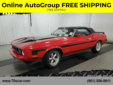 1973 Ford Mustang for sale at Online AutoGroup FREE SHIPPING in Riverside CA