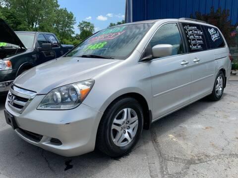 2007 Honda Odyssey for sale at FREDDY'S BIG LOT in Delaware OH