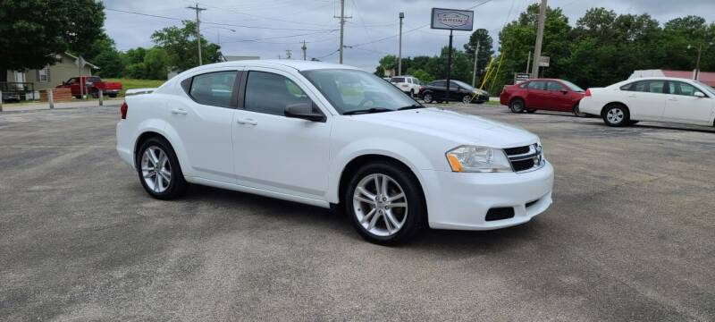 2013 Dodge Avenger for sale at Aaron's Auto Sales in Poplar Bluff MO