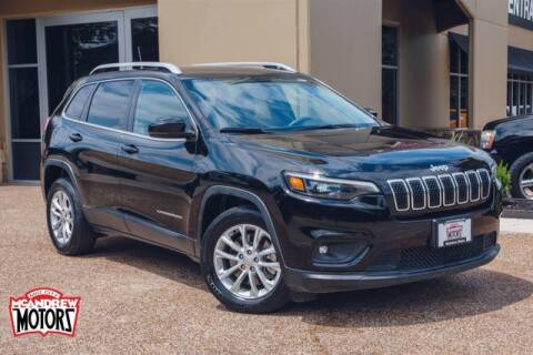 2019 Jeep Cherokee for sale at Mcandrew Motors in Arlington TX