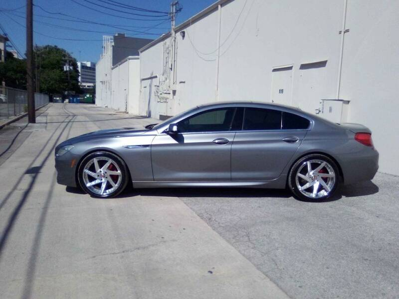 2013 BMW 6 Series for sale at 57 Auto Sales in San Antonio TX