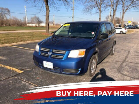 2010 Dodge Grand Caravan for sale at Stryker Auto Sales in South Elgin IL
