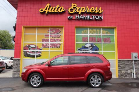 2010 Dodge Journey for sale at AUTO EXPRESS OF HAMILTON LLC in Hamilton OH