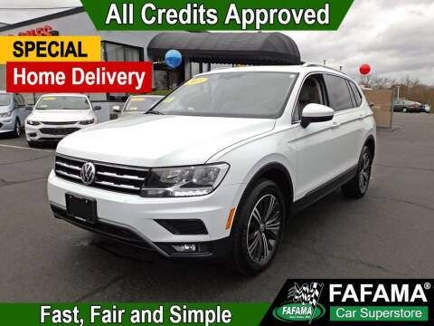 2018 Volkswagen Tiguan for sale at FAFAMA AUTO SALES Inc in Milford MA
