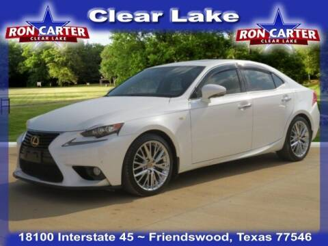 2014 Lexus IS 250 for sale at Ron Carter  Clear Lake Used Cars in Houston TX