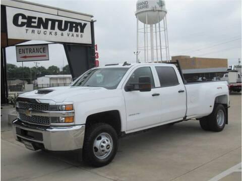 2019 Chevrolet Silverado 3500HD for sale at CENTURY TRUCKS & VANS in Grand Prairie TX