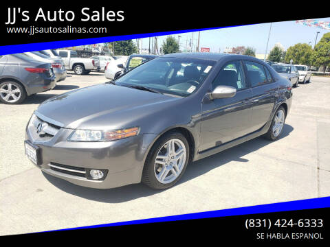 2008 Acura TL for sale at JJ's Auto Sales in Salinas CA