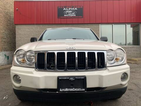 2006 Jeep Grand Cherokee for sale at Alpha Motors in Chicago IL