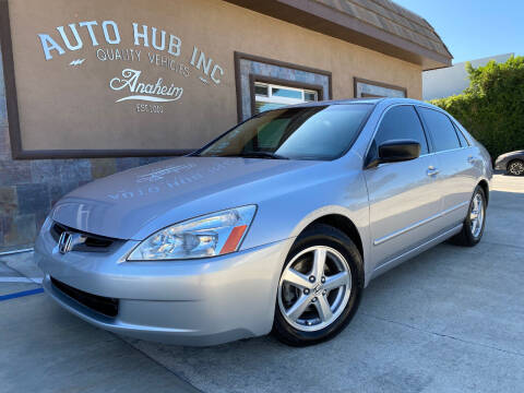 2004 Honda Accord for sale at Auto Hub, Inc. in Anaheim CA
