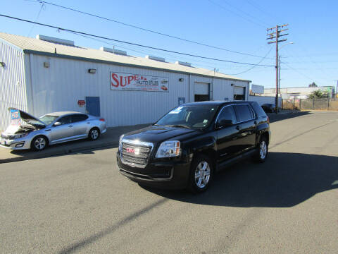 2016 GMC Terrain for sale at SUPER AUTO SALES STOCKTON in Stockton CA