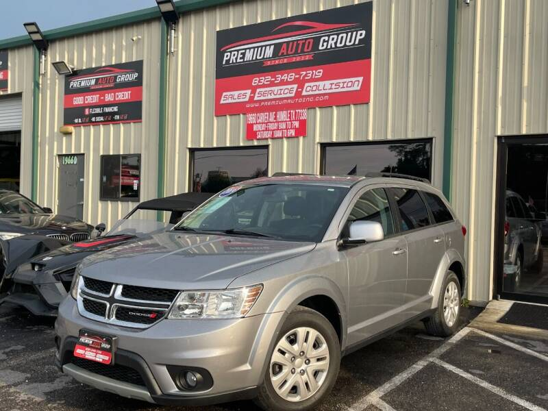 2019 Dodge Journey for sale at Premium Auto Group in Humble TX
