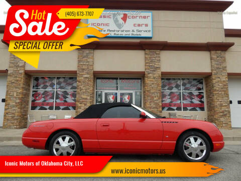 2003 Ford Thunderbird for sale at Iconic Motors of Oklahoma City, LLC in Oklahoma City OK