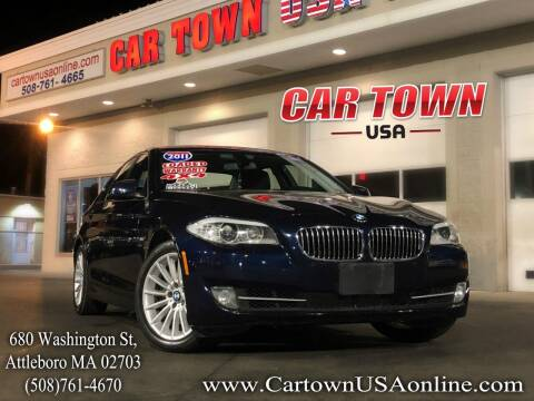 2011 BMW 5 Series for sale at Car Town USA in Attleboro MA
