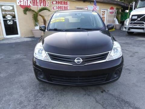 2012 Nissan Versa for sale at VALDO AUTO SALES in Miami FL