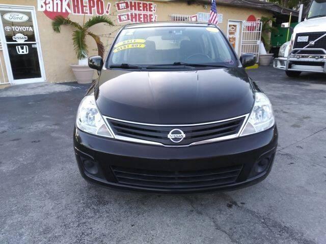 2012 Nissan Versa for sale at VALDO AUTO SALES in Miami FL