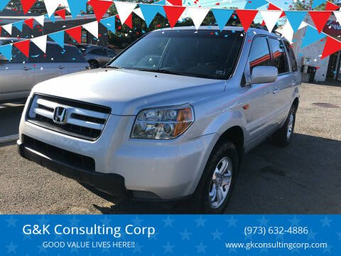 2008 Honda Pilot for sale at G&K Consulting Corp in Fair Lawn NJ
