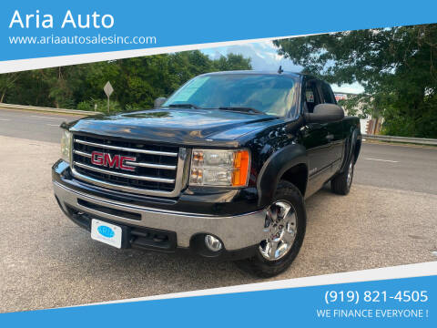 2012 GMC Sierra 1500 for sale at ARIA  AUTO  SALES in Raleigh NC