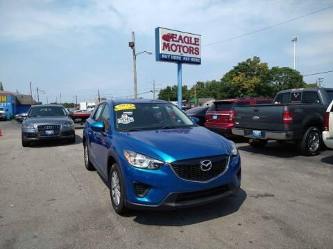 2013 Mazda CX-5 for sale at Eagle Motors in Hamilton OH