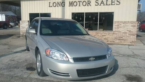 2009 Chevrolet Impala for sale at Long Motor Sales in Tecumseh MI