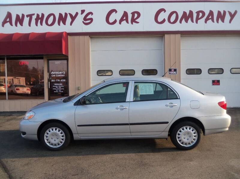 2006 Toyota Corolla for sale at Anthony's Car Company in Racine WI