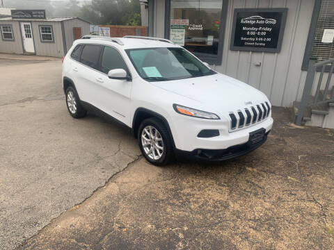 2015 Jeep Cherokee for sale at Rutledge Auto Group in Palestine TX