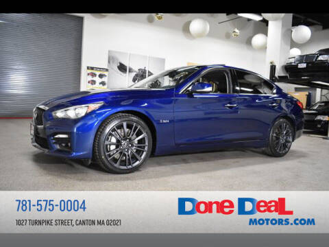 2016 Infiniti Q50 for sale at DONE DEAL MOTORS in Canton MA