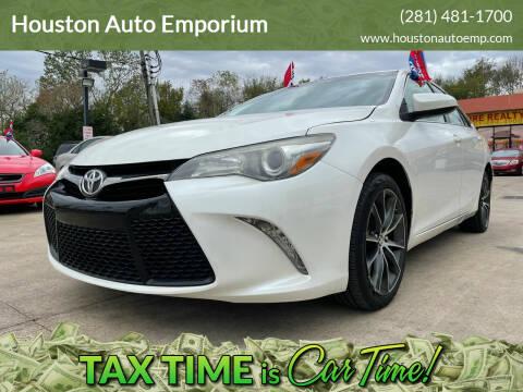 2015 Toyota Camry for sale at Houston Auto Emporium in Houston TX