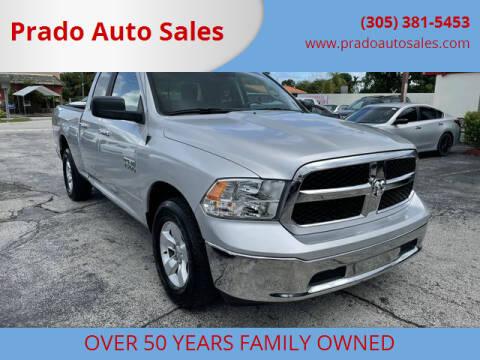 2018 RAM Ram Pickup 1500 for sale at Prado Auto Sales in Miami FL