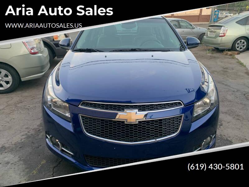 2012 Chevrolet Cruze for sale at Aria Auto Sales in El Cajon CA