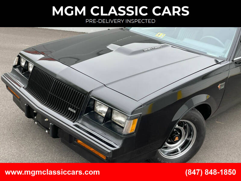 1987 Buick Regal for sale at MGM CLASSIC CARS in Addison IL