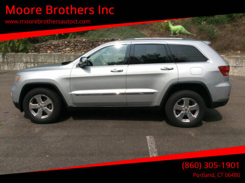 2012 Jeep Grand Cherokee for sale at Moore Brothers Inc in Portland CT