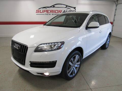 2014 Audi Q7 for sale at Superior Auto Sales in New Windsor NY