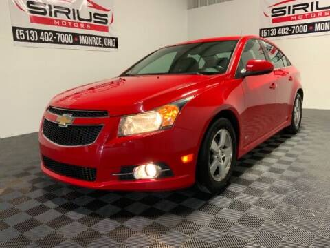 2014 Chevrolet Cruze for sale at SIRIUS MOTORS INC in Monroe OH