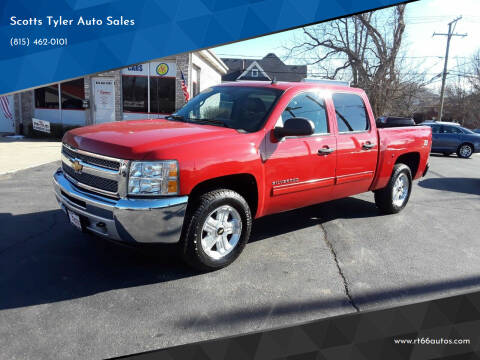 2012 Chevrolet Silverado 1500 for sale at Scotts Tyler Auto Sales in Wilmington IL