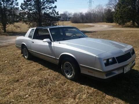 1987 Chevrolet Monte Carlo for sale at Haggle Me Classics in Hobart IN