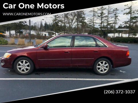 2002 Toyota Avalon for sale at Car One Motors in Seattle WA