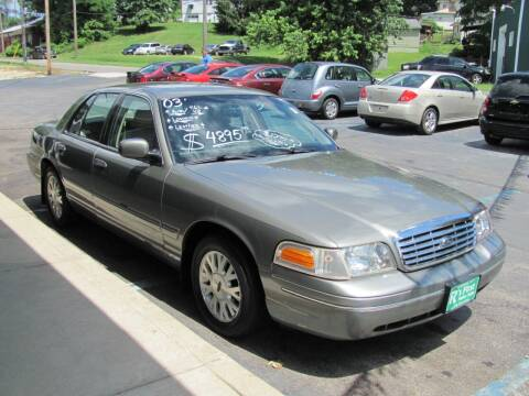 2003 Ford Crown Victoria for sale at R's First Motor Sales Inc in Cambridge OH