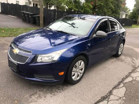 2012 Chevrolet Cruze for sale at Eddie's Auto Sales in Jeffersonville IN
