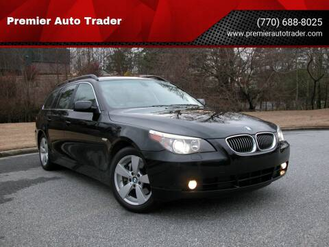 2007 BMW 5 Series for sale at Premier Auto Trader in Alpharetta GA