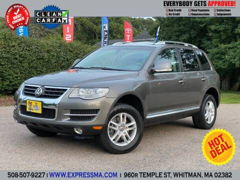 2008 Volkswagen Touareg 2 for sale at Auto Sales Express in Whitman MA