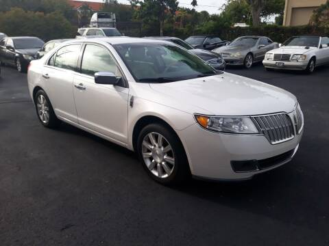 2012 Lincoln MKZ for sale at LAND & SEA BROKERS INC in Deerfield FL