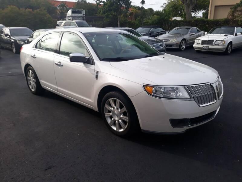 2012 Lincoln MKZ for sale at LAND & SEA BROKERS INC in Pompano Beach FL