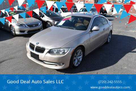 2013 BMW 3 Series for sale at Good Deal Auto Sales LLC in Denver CO