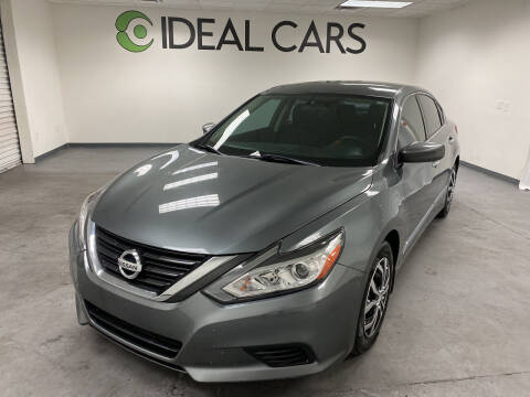 2016 Nissan Altima for sale at Ideal Cars in Mesa AZ