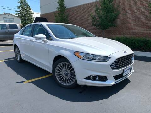 2016 Ford Fusion for sale at Dymix Used Autos & Luxury Cars Inc in Detroit MI