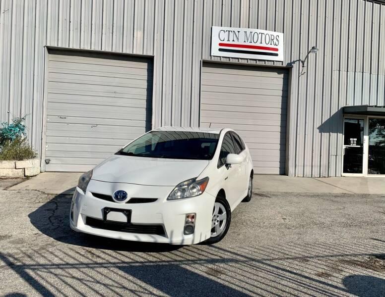 2010 Toyota Prius for sale at CTN MOTORS in Houston TX