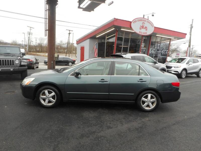 2005 Honda Accord for sale at The Carriage Company in Lancaster OH
