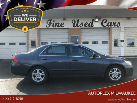 2007 Honda Accord for sale at Autoplex 2 in Milwaukee WI