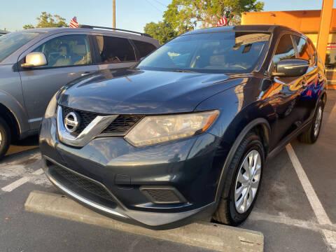 2015 Nissan Rogue for sale at LATINOS MOTOR OF ORLANDO in Orlando FL
