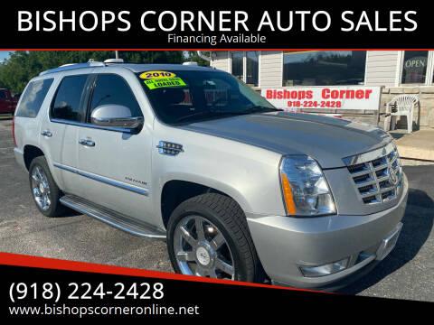2010 Cadillac Escalade for sale at BISHOPS CORNER AUTO SALES in Sapulpa OK